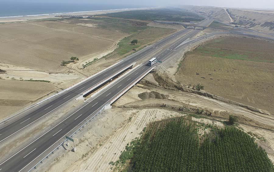 Puente sobre la Quebrada Tambo de Mora