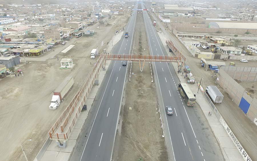 Puente Peatonal Pucusana