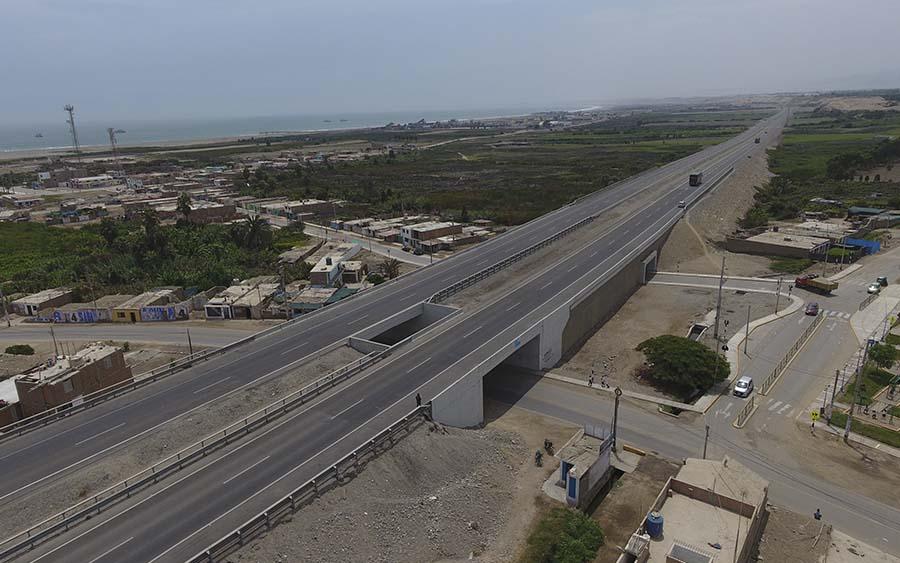 Paso a Desnivel Tambo de Mora y Solución Vial Dos de Mayo