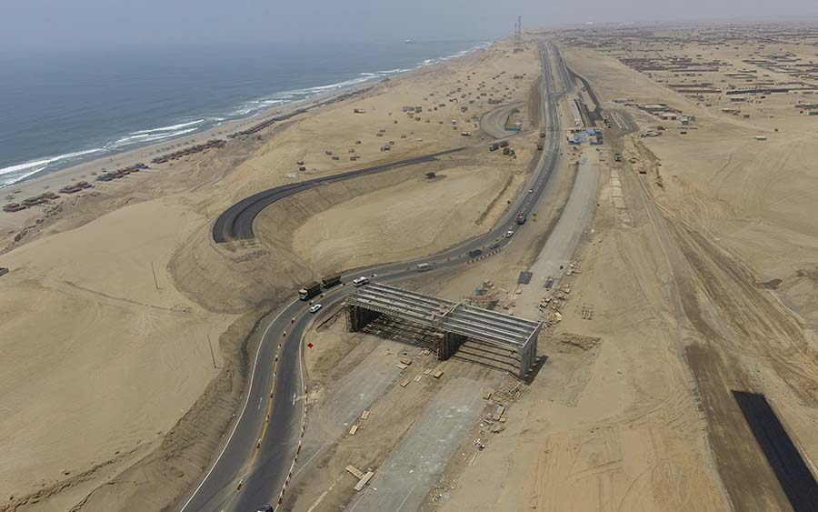Construcción del Puente Nuevo Ayacucho incluido accesos